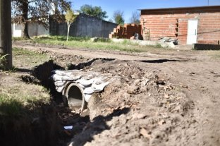 Culminaron los trabajos hídricos en Cabaña Leiva y prosiguen los de Sabalito