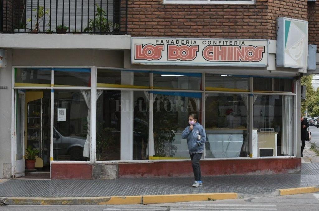 No es la primera vez que la panadería Los Dos Chinos, sucursal de Francia y Salta, es blanco de la inseguridad. Crédito: El Litoral