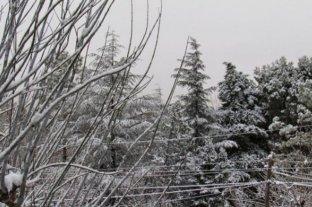 No sólo en Córdoba: en San Luis también nevó