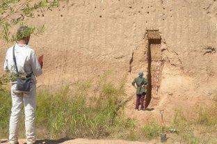 Investigan restos fósiles hallados en la localidad de Tortugas