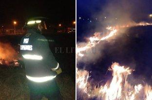 Incendio de pastizales en Santa Fe; Santo Tomé, Rafaela y Rosario