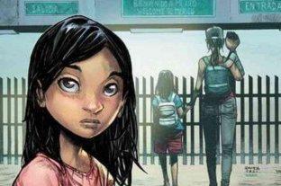 Un cómic retrata la situación de niños migrantes centroamericanos que huyen hacia Estados Unidos