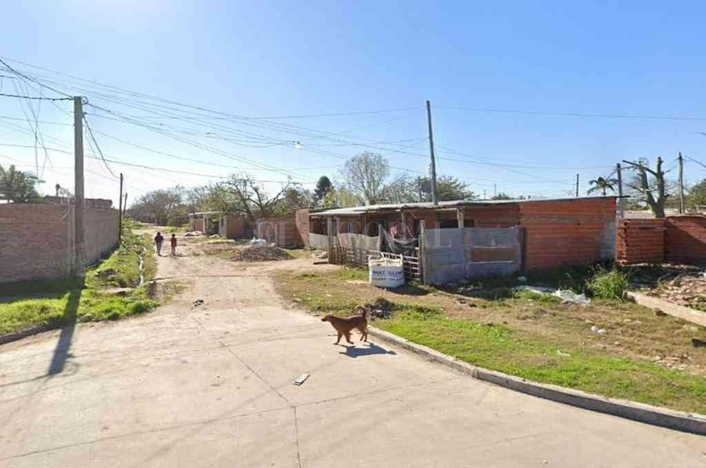 Un mes antes y a pocos metros del lugar del crimen de Martínez, se produjo una balacera que termino con personas heridas. Crédito: Archivo El Litoral