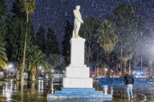 Nevó en San Juan y se extiende el alerta