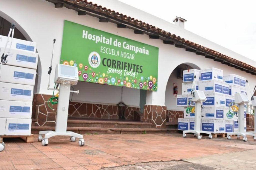 Corrientes sumó 50 nuevos respiradores al Hospital de Campaña -  -