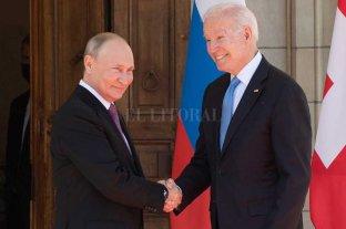 """Putin y Biden se reunieron sin """"hostilidad"""" en Ginebra"""