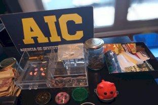 AIC secuestró pastillas de éxtasis, marihuana y un celular en Rosario