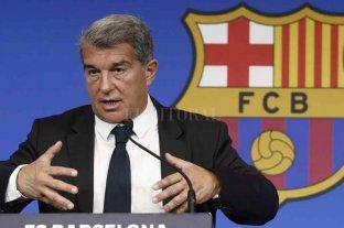 """El presidente del Barcelona aseguró que """"Messi quiere quedarse"""""""