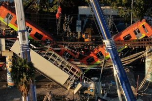 """Pericia concluyente: una """"falla estructural"""" provocó accidente en metro de Ciudad de México"""