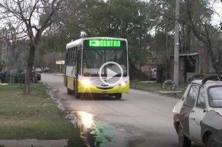 Alto Verde: por hechos de robo, acortan el recorrido de la Línea 13