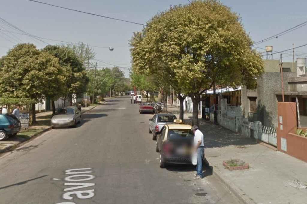 La cuadra donde ocurrió el asalto.   Crédito: Google Maps