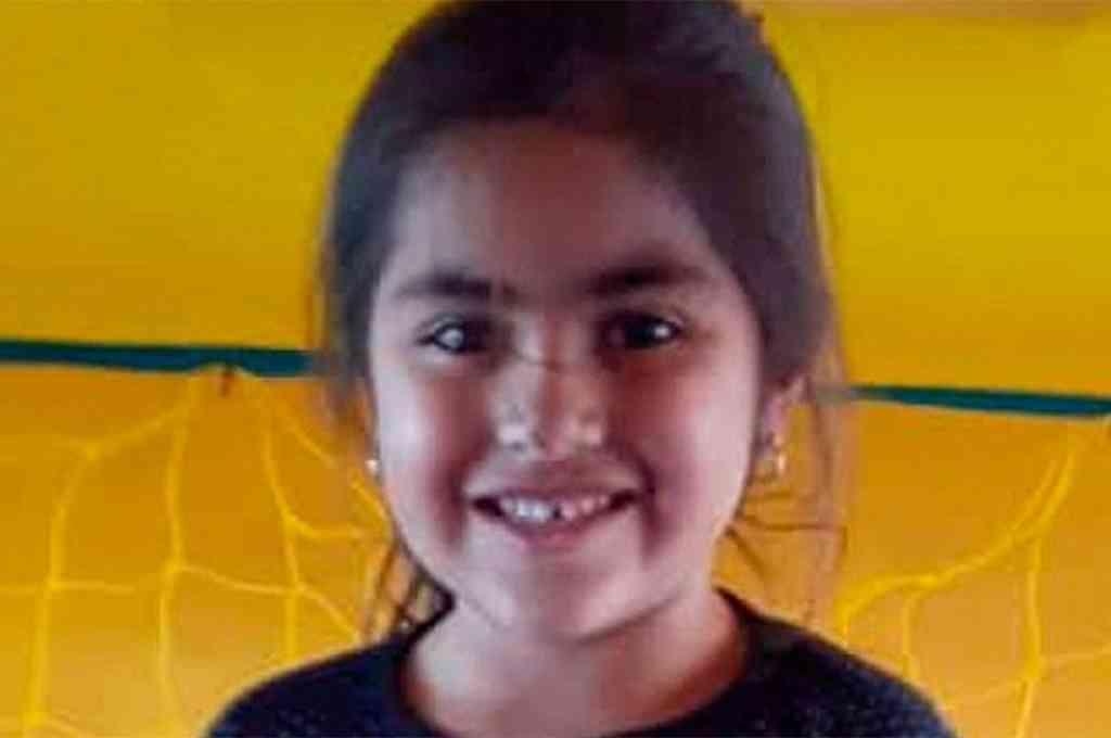 Guadalupe Lucero tiene cinco años y desapareció en el sur de la ciudad de San Luis. Crédito: Gentileza Twitter