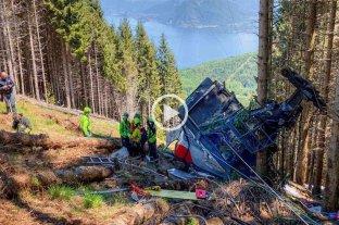 Video: así fue el momento en que cayó el teleférico en el que murieron 14 personas en Italia