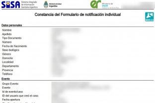 Publicaron por error resultados de hisopados con identidades de miles de entrerrianos