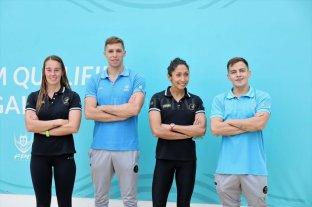 Sueño olímpico para cuatro argentinos
