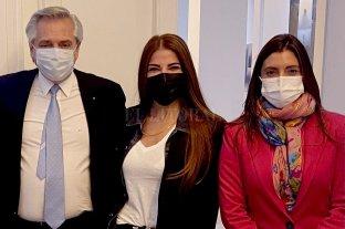 ¿Zulemita candidata?: se reunió con el Presidente en Olivos