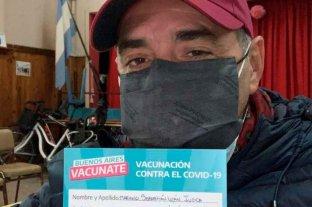 """Mariano Iúdica contó sus sensaciones tras vacunarse contra el coronavirus: """"Lloré mucho"""""""