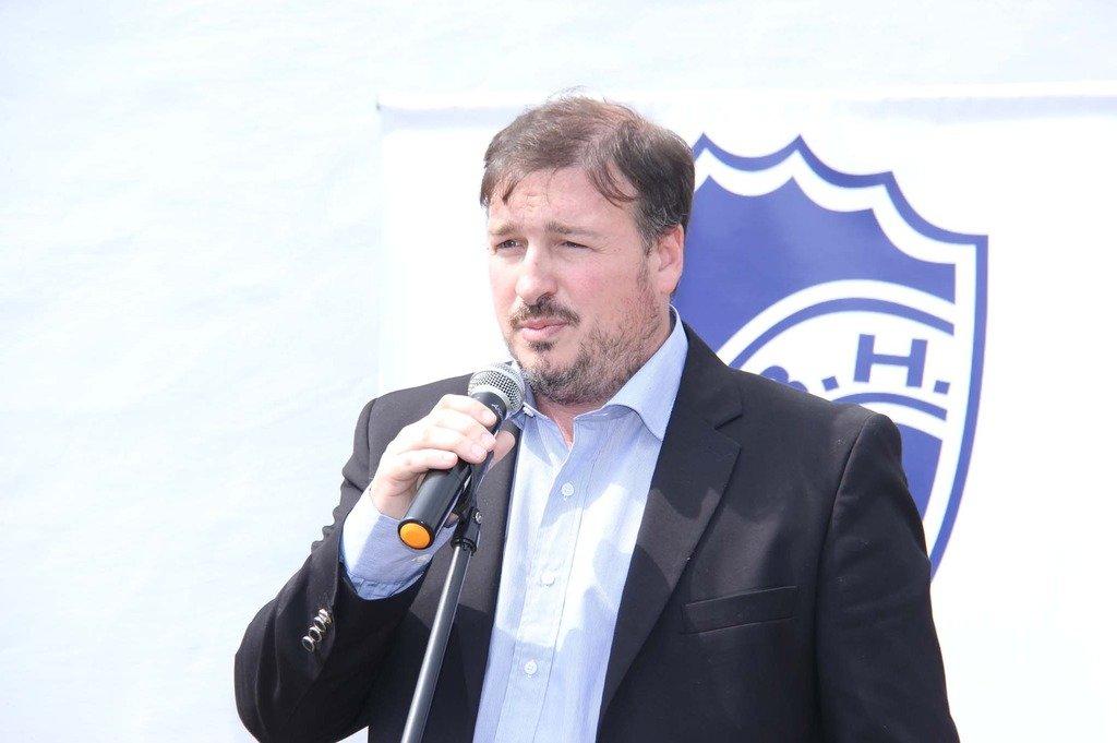 Adrián Zenklusen, presidente de Ben Hur. Foto:Gentileza.