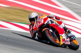 Marquez, el más rápido en MotoGP
