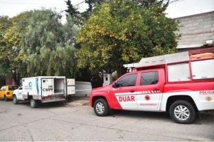 Un incendio con desmoronamiento provocó la muerte de un hombre en Córdoba
