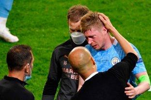 """De Bruyne: """"Todavía no siento nada en el lado izquierdo de la cara"""""""