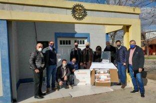 El Rotary Club Pilar afianza su labor solidaria en la región