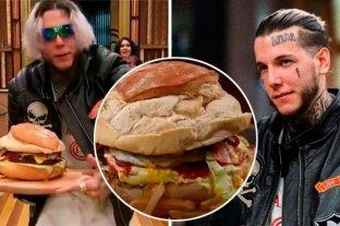 La hamburguesa  de Alexander Caniggia sale a la venta por 6.969 pesos