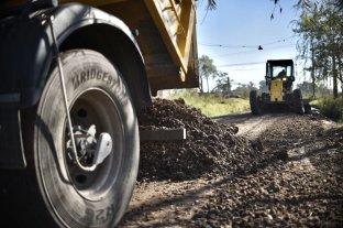 Continúan las obras de mejora integral de barrio Santa Rita