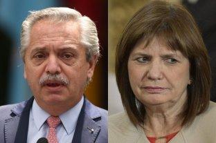 No hubo acuerdo en la mediación y Alberto Fernández demandará a Patricia Bullrich por difamaciones