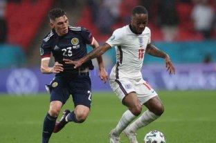 Inglaterra empató con Escocia y seguirá compartiendo la cima del Grupo D con República Checa
