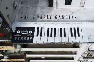Una avenida porteña podría llevar el nombre de Charly García
