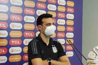 """Scaloni, conforme tras la victoria frente a Uruguay: """"El equipo estuvo muy sólido"""""""