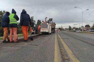 Vialidad continúa las obras de recuperación de la Ruta 11 desde Timbúes hasta Avellaneda