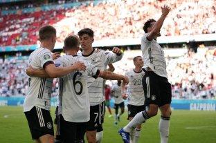Alemania remontó un gran partido ante Portugal
