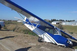 Una avioneta se despistó y terminó en la autopista Buenos Aires – La Plata