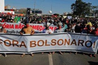 Centenares de Brasileños se movilizan contra Jair Bolsonaro