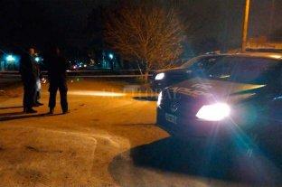 Una niña de 12 años, testigo del crimen de su hermano - La policía trabajaba en el lugar.