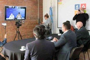San Lorenzo: firman convenio para la construcción de cloacas en barrio Bouchard