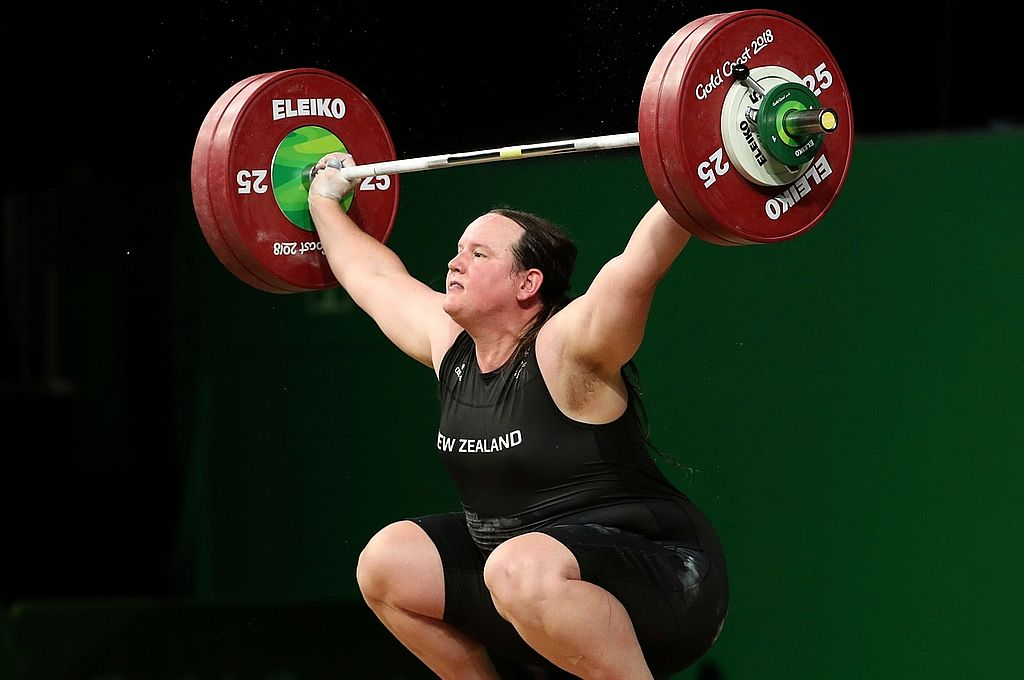 Hubbard, que será la levantadora de más edad en los Juegos, había competido en halterofilia masculina antes de hacer la transición en 2013. Crédito: Archivo
