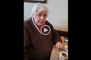 Video: Samid, con prisión domiciliaria, estaba almorzando en un bodegón de Buenos Aires