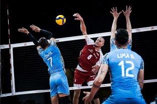 Vóleibol: Argentina perdió 3 a 0 ante Polonia