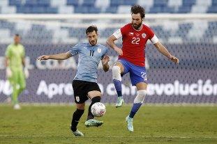Uruguay y Chile empataron 1 a 1