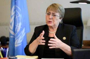 """Bachelet habló en la ONU sobre """"las preocupaciones críticas de derechos humanos"""" en Formosa"""