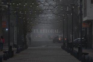 Martes con neblina y temperatura moderada en la ciudad de Santa Fe