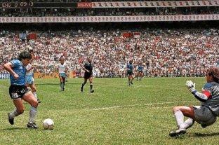 """Invitan a """"gritar a las 16:09"""" el gol de Maradona a los ingleses"""
