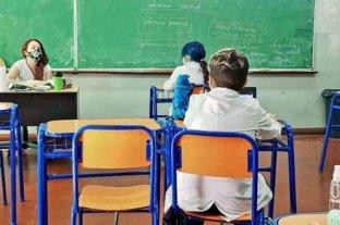 En todas las escuelas de Chubut vuelven las clases presenciales