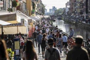 Italia, uno de los países más afectados por la circulación de la variante Delta