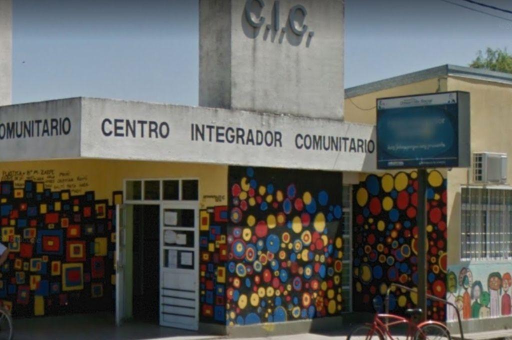 La denuncia fue radicada por las autoridades del Centro Integrador Comunitario de la municipalidad de Rafaela. Crédito: Google Maps