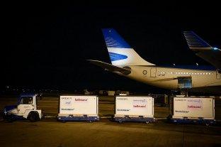 Arribó a la Argentina el segundo vuelo con 768 mil dosis de Sinopharm