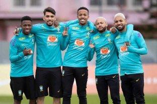 """Brasil quiere asegurarse el """"uno"""" en el Grupo B"""